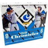 2019 Panini Chronicles Baseball Hobby 16 Box Case
