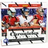 2019 Panini Chronicles Football Hobby 12 Box Case