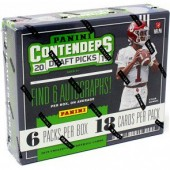 2019 Panini Contenders Draft Picks Football Hobby 12 Box Case