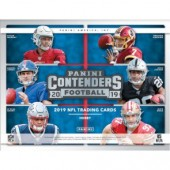 2019 Panini Contenders Football Hobby 12 Box Case