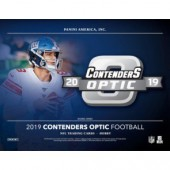2019 Panini Contenders Optic Football Hobby 20 Box Case