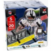 2019 Panini Donruss Elite Football 1st Off the Line Hobby Box