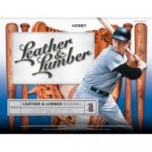 2019 Panini Leather and Lumber Baseball Hobby 10 Box Case