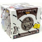 2019 Panini Legacy Football Hobby 24 Box Case