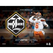 2019 Panini Limited Football Hobby 14 Box Case