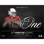 2019 Panini One Football Hobby 20 Box Case