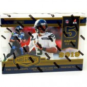 2019 Panini Plates & Patches Football Hobby 12 Box Case
