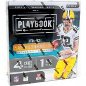 2019 Panini Playbook Football Hobby 16 Box Case