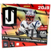 2019 Panini Unparalleled Football Hobby 16 Box Case