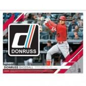 2019 Panini Donruss Baseball Hobby 16 Box Case