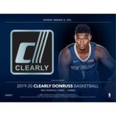 2019/20 Panini Clearly Donruss Basketball Hobby Box