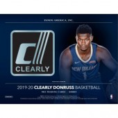 2019/20 Panini Clearly Donruss Basketball Hobby 12 Box Case