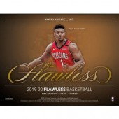 2019/20 Panini Flawless Basketball Hobby 2 Box Case