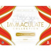 2019 Panini Immaculate Football Hobby 6 Box Case