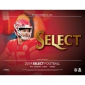 2019 Panini Select Football Hobby 12 Box Case
