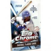 2019 Topps Chrome Baseball Hobby 12 Box Case