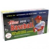 2019 Topps Heritage Baseball Hobby 12 Box Case