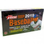 2019 Topps Heritage Minor League Baseball Hobby Box