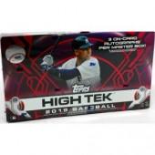 2019 Topps High Tek Baseball Hobby 12 Box Case