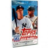 2019 Topps Series 1 Baseball Hobby 12 Box Case