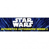 2019 Topps Star Wars Authentics Series 2 Autographed Photo & Trading Card 12 Box Case