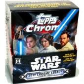 2019 Topps Star Wars Chrome Legacy Hobby 8 Box Case