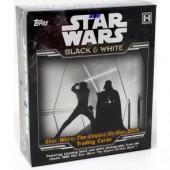 2019 Topps Star Wars The Empire Strikes Back: Black & White Hobby 12 Box Case