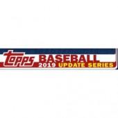 2019 Topps Update Series Baseball Jumbo 6 Box Case