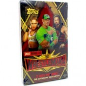 2019 Topps WWE Road To Wrestlemania Hobby 8 Box Case