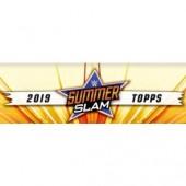 2019 Topps WWE SummerSlam Hobby 8 Box Case