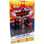 2019 Topps WWE SummerSlam Hobby 8 Box Case