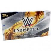 2019 Topps WWE Undisputed Hobby 8 Box Case
