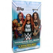 2019 Topps WWE Women's Division Hobby 12 Box Case