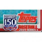 2019 Topps Series 1 Baseball Blaster 16 Box Case