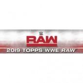 2019 Topps WWE RAW Hobby 8 Box Case