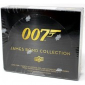 2018 Upper Deck James Bond Collection Trading Cards 12 Box Case