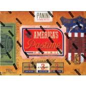 2013 Panini America's Pastime Baseball Hobby 6 Box Case