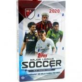 2020 Topps MLS Soccer Hobby 12 Box Case