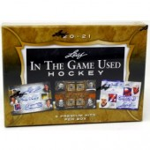 2020/21 Leaf In The Game (ITG) Game Used Hockey 10 Box Case