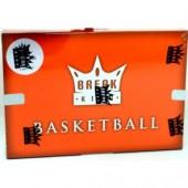 2021 Break King Premium Edition Basketball 3 Box Case