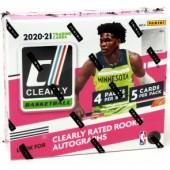 2020/21 Panini Clearly Donruss Basketball Hobby Box