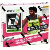 2020/21 Panini Clearly Donruss Basketball Hobby 12 Box Case