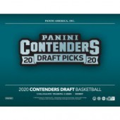 2020/21 Panini Contenders Draft Picks Basketball Hobby 12 Box Case