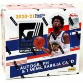 2020/21 Panini Donruss Basketball Hobby 10 Box Case