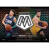 2020/21 Panini Mosaic Basketball Hobby Box