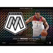2020/21 Panini Mosaic Basketball Fast Break 20 Box Case