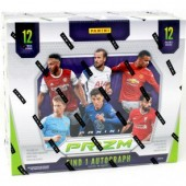 2020/21 Panini Prizm English Premier League Soccer Hobby 12 Box Case