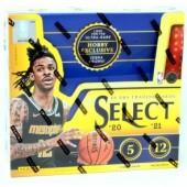 2020/21 Panini Select Basketball Hobby Box