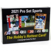 2021 Pro Set Sports Multi-Sport 10 Box Case