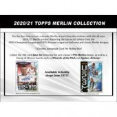 2020/21 Topps Merlin Chrome Soccer Hobby 12 Box Case